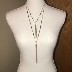 Gold Layered Fashion Necklace!